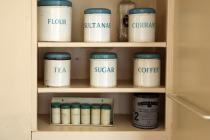 Sugar Tea and Coffee tins