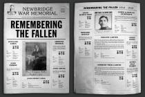 Newbridge Memorial Commemorative Newspaper