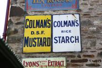 Signage on the Gwalia Stores