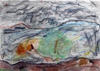 Rocks on Tryfan by Ysgol Bodedern
