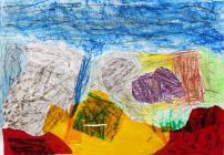 Rocky Valley by Ysgol Bodedern