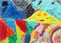 Rocky Valley by Ysgol Moelfre