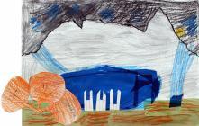 Tryfan Mountain by Ysgol Bodedern