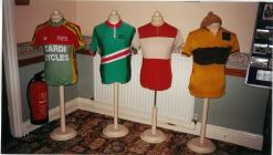 Ystwyth Cycle Club jerseys through the years