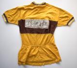 First Ystwyth Cycle Club jersey 1952 (rear view)