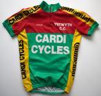 Fifth Ystwyth Cycle Club jersey used 1993 - 2003