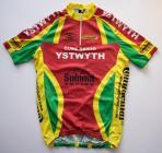 Sixth Ystwyth Cycle Club jersey used 2004 - 2009