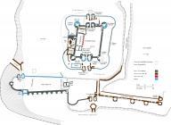 Ground Plan - Caerphilly Castle