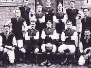 1929 football team at The North Wales Hospital,...