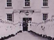 Entrance to The North Wales Hospital, Denbigh