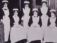 Nurses at The North Wales Hospital, Denbigh