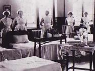 Nurses at The North Wales Hospital