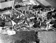 Aerial view of The North Wales Hospital, Denbigh