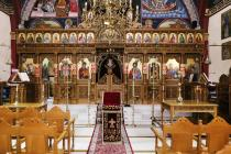 Painted and Carved Images on the Iconostasis