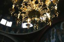 Lighting detail St Nicholas Greek Orthodox Church