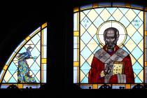 Window depicting St Nicholas