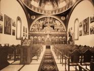 Interior of St Nicholas Greek Orthodox Church
