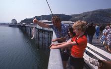 Angling from Llandudno Pier