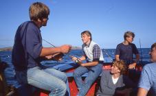 Fishing on Caldey Island