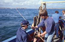 Fishing holiday Saundersfoot