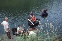 Coracles after Race 1984