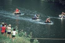 End of Coracle Race 1984