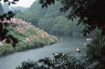 River Teifi Coracle Races 1984
