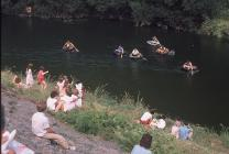 Coracle Race 1984