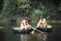 Coracle Fisherman 1984