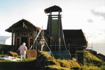 Visiting the set of Dinotopia at Porth Ysgaden
