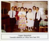 Merched y Wawr Cangen Abergorlech yn Ysbyty...