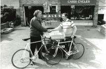 Will Hughes proprietor of Cardi Cycles...