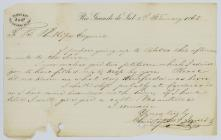 Letter to Thomas Benbow Phillips from...