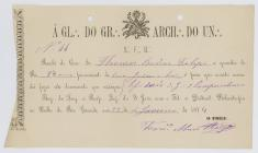 Receipt of the payment of the jewelry and...