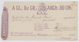 Receipt of the payment until May 1882 to the...