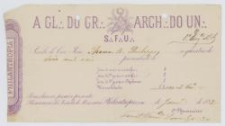 Receipt of the payment until February 1882  to...
