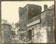 Swansea Castle c.1855