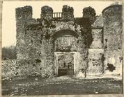 Oxwich Castle Gateway