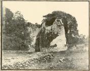 Penrice Castle Ruins