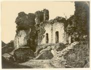 Castell Caerffili tua 1855