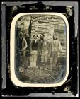 A group of servants taken at Plas Llangoedmor