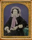 Portrait of a woman c.1870-1880