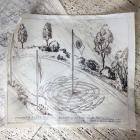 Temple garden plans