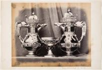 Decanters that belonged to William Burges