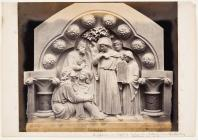 Sculpture in Crypt of St Augustine's College