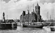 Cardiff Docks 1890s