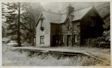 Cambrian Railways, Dinas Mawddwy.