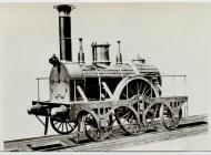 GWR 2-2-2.