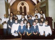 St Illtyds choir, Llantwit Fardre