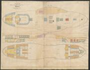 Plan of the Netherland Steam Packet Company's...